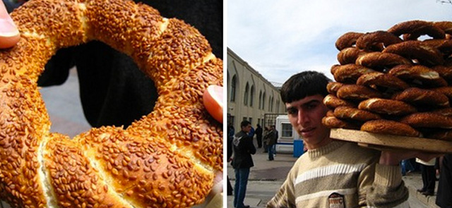 Simit: le ciambelle turche
