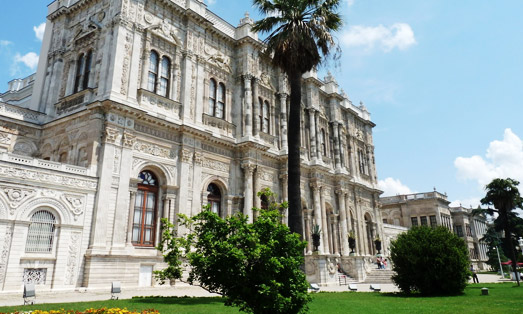 Palazzo Dolmabahce di Istanbul